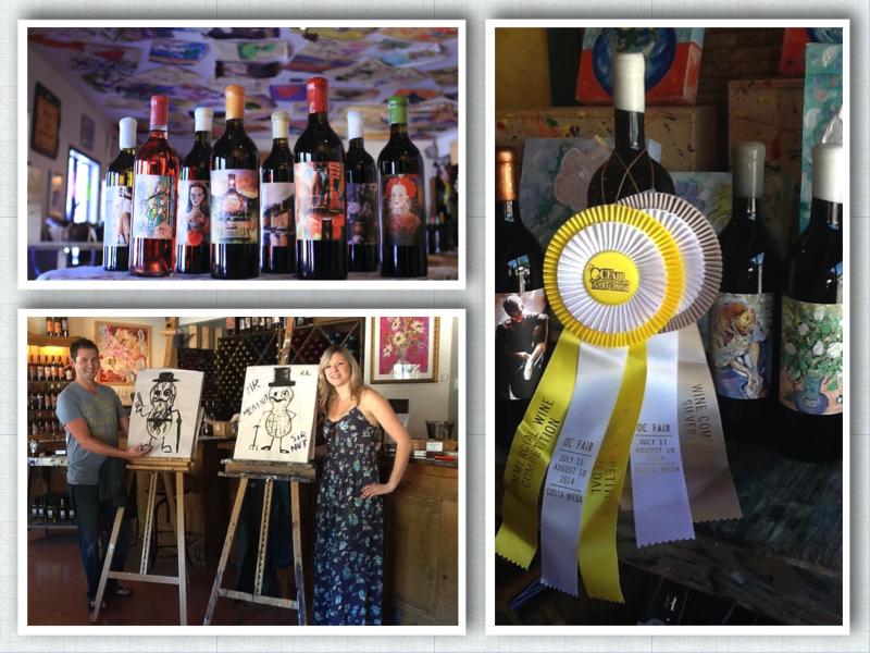 Photo courtesy of Artiste Winery