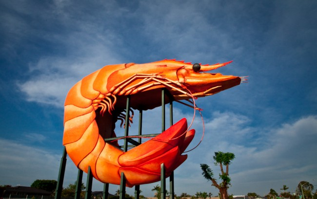 The Big Prawn, Ballina © cn2480.com.au/WikiCommons