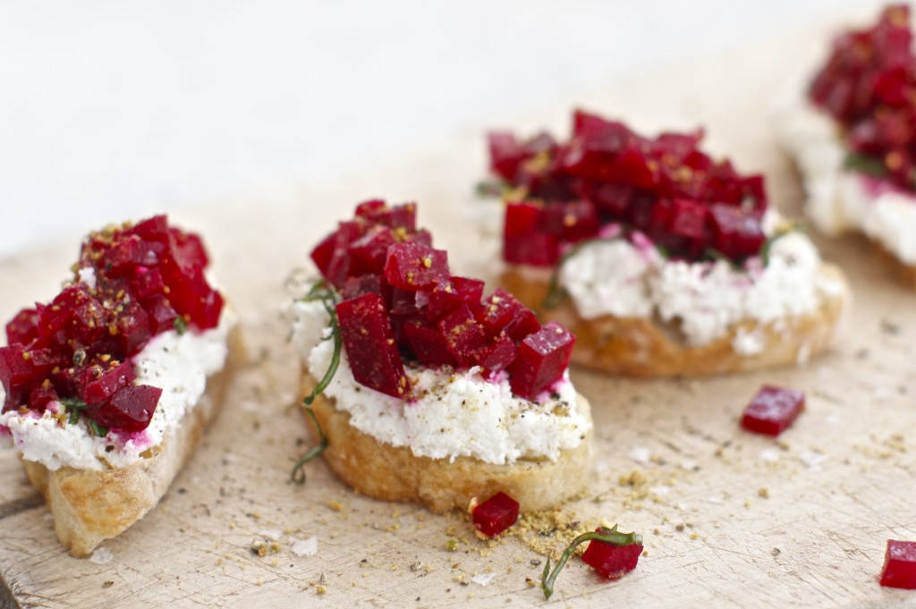 Beet Crostini | © Courtesy of Vernetti