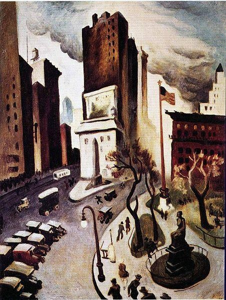 New York, Early Twenties | ©Thomas Hart Benton / WikiCommons