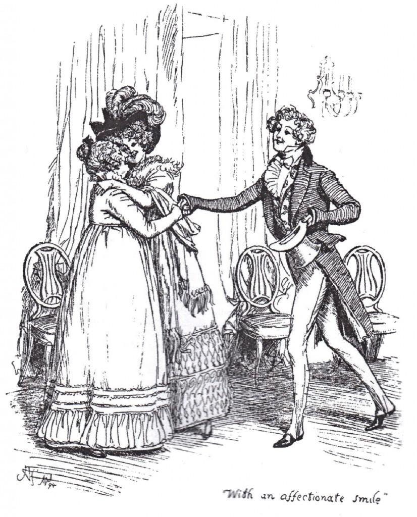 Beware the George Wickham's of the world   © illustration by Hugh Thompson / wikicommons