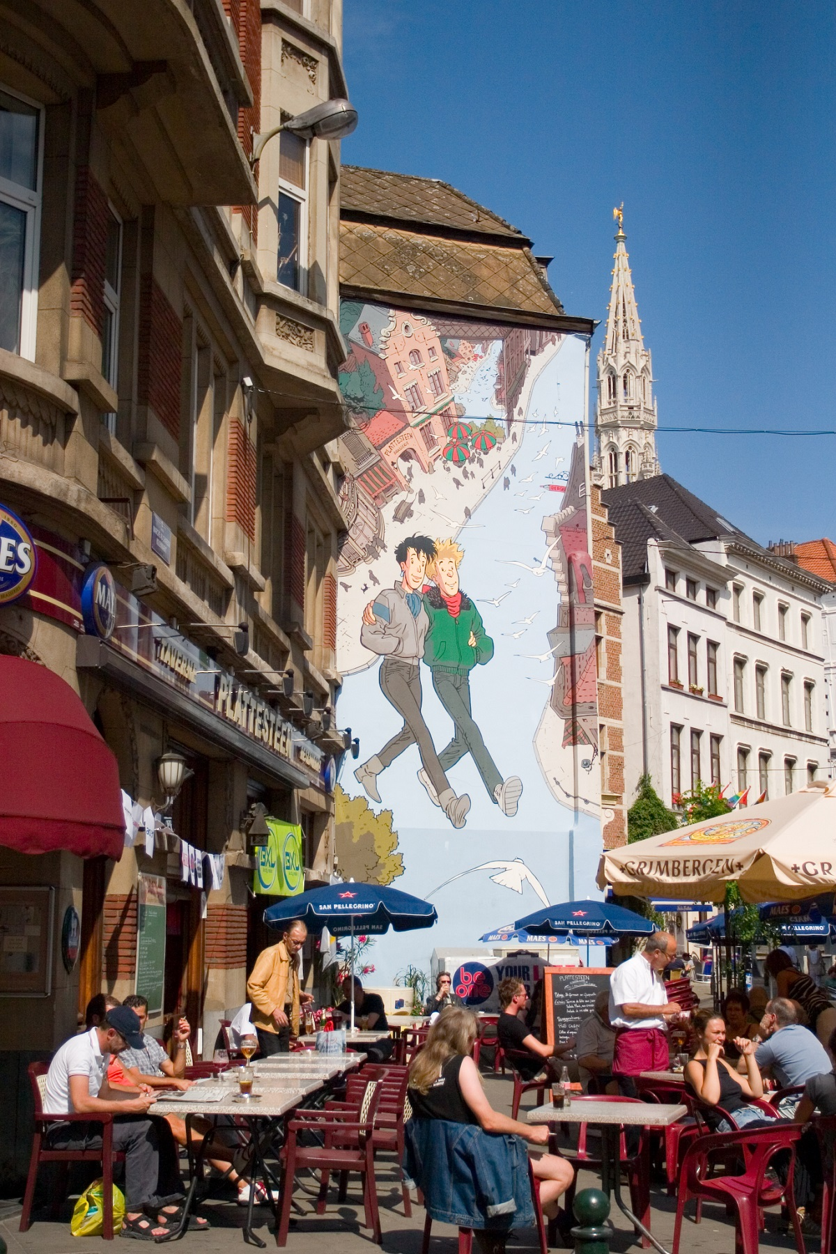 top 10 murals to check out on the brussels comic book route broussaille wall lin mei flickr