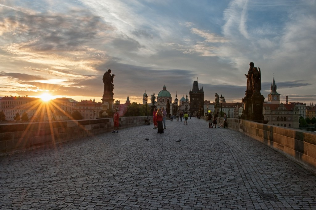 Sunrise over Charles Bridge, Prague | Courtesy Prague City Tourism