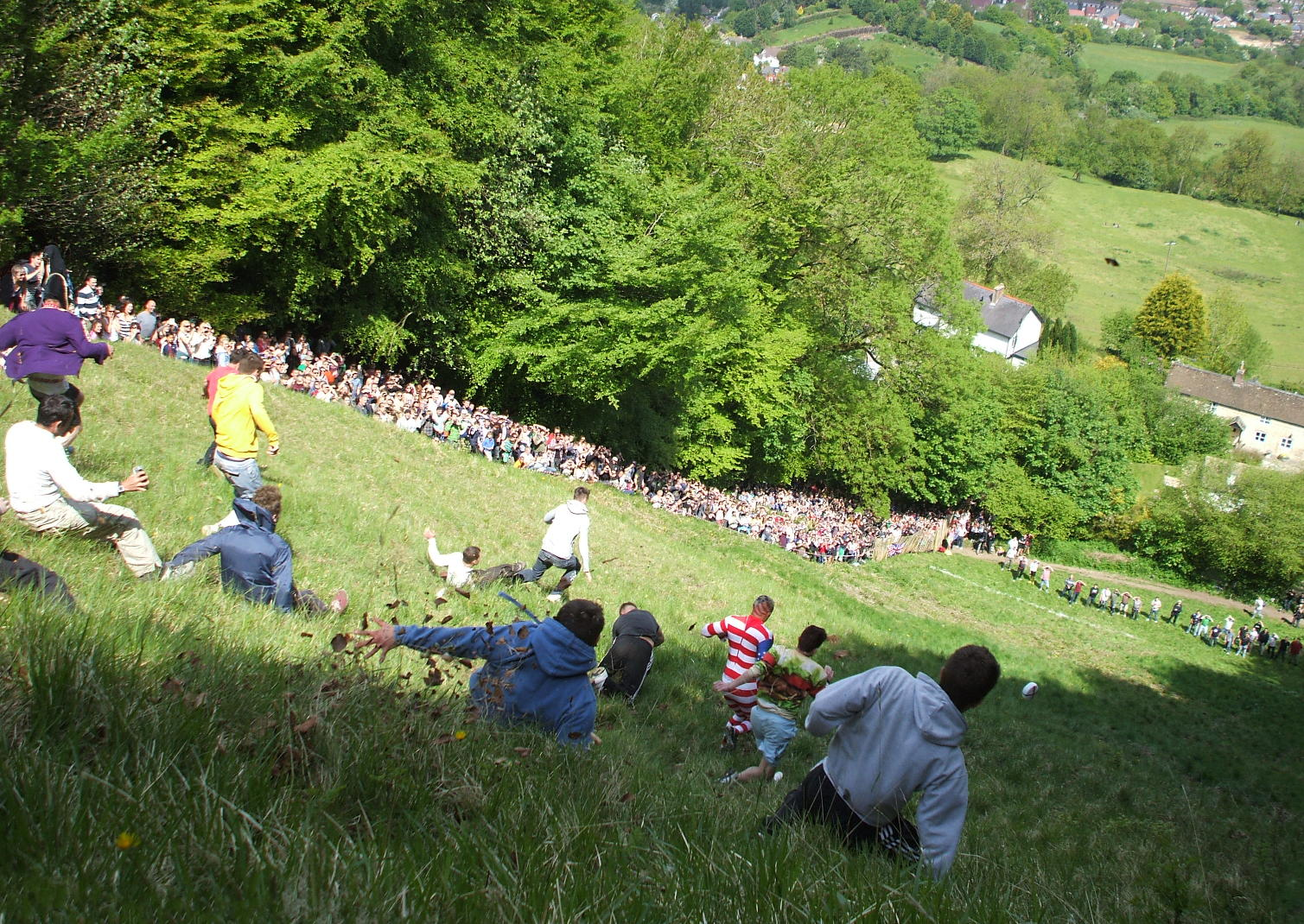 Cheese Rolling in 2013 | © Dave Farrance/WikiCommons