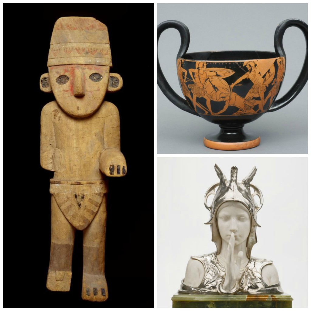 Some of the masterpieces on display at the Cinquantenaire Museum | Courtesy of Brussels Museums