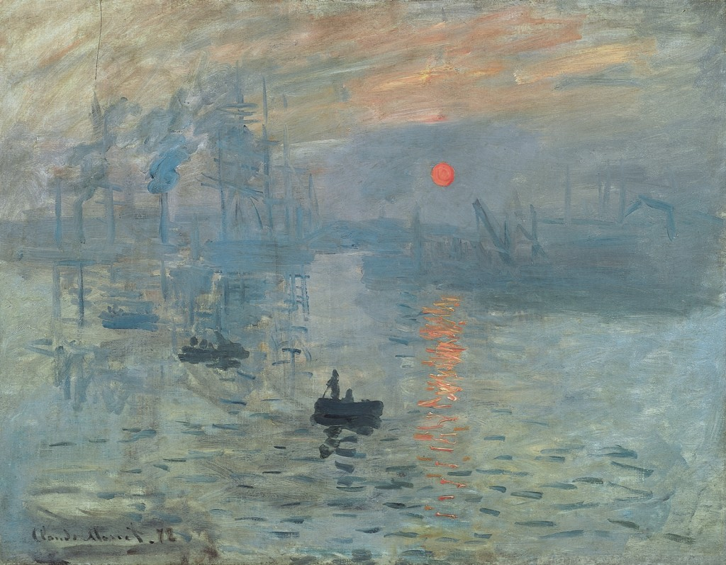 """Impression, Sunrise"" By Claude Monet 