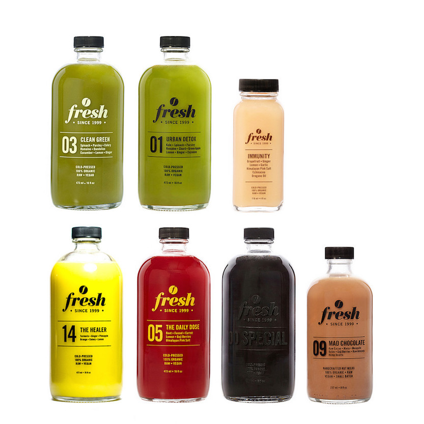 Detox & Boost Juice Cleanse | Courtesy of Fresh