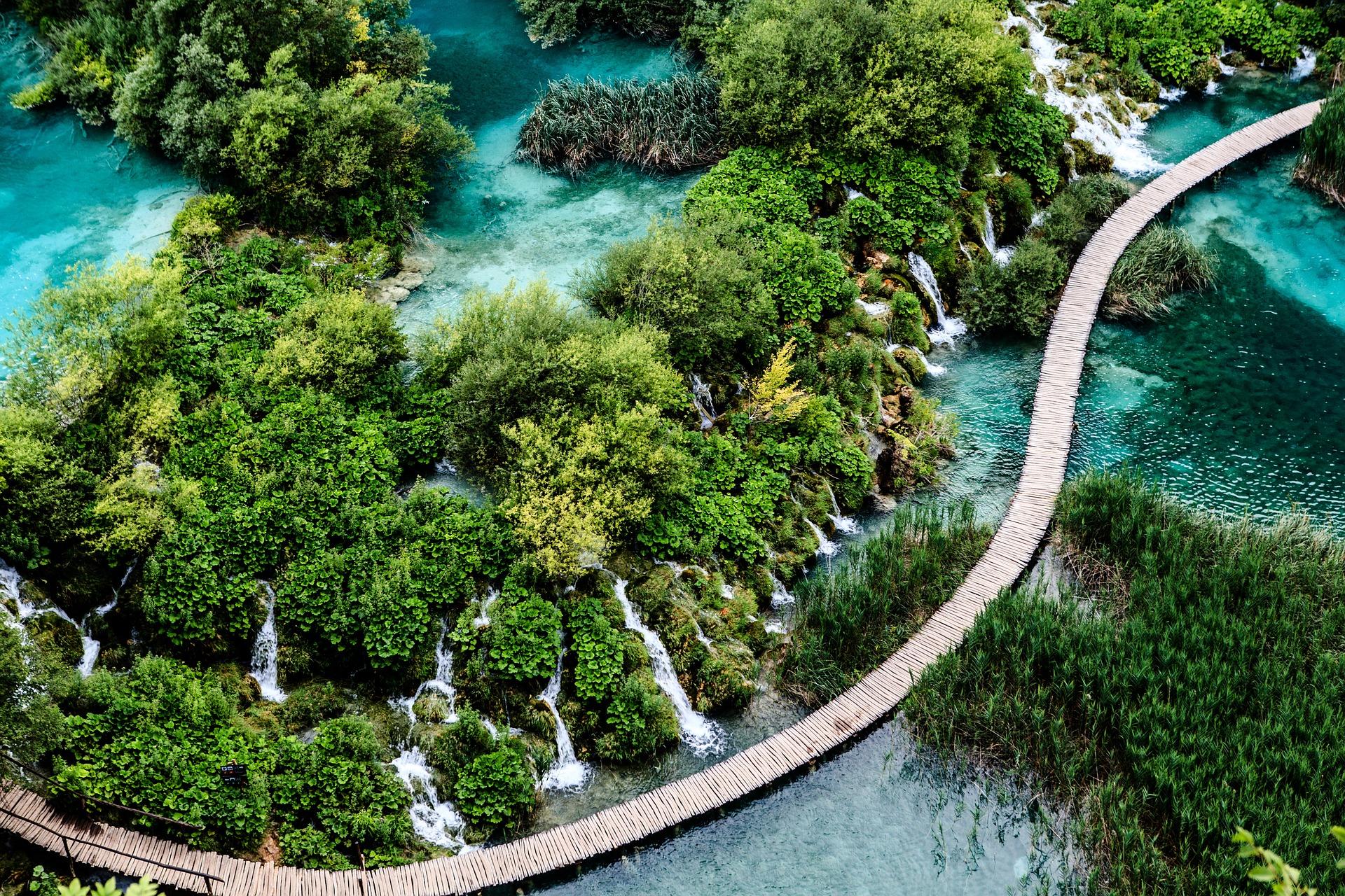Plitvice Waterfalls | © tangentbeta/Pixabay