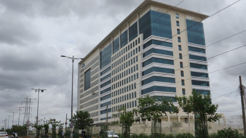The changing Bhubaneswar: DLF Cyber City