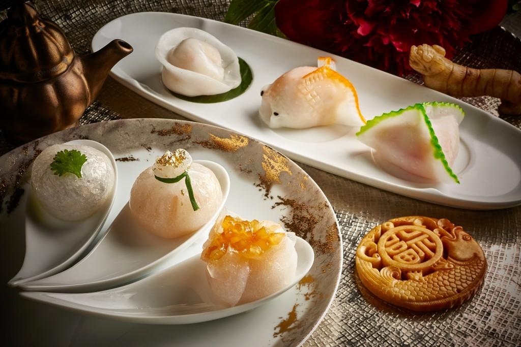 Duddell's_Trio Seafood Dumpling & Trio Dried Seafood Dumpling