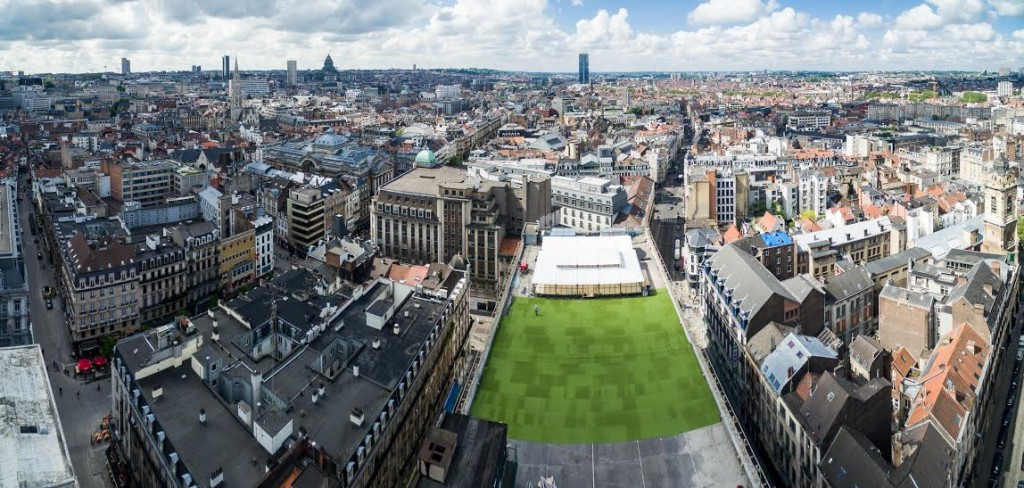 Panorama Brussels (Rooftop 58) | Courtesy of Rooftop 58