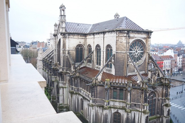 Église Sainte Catherine, Brussels | © Marc Cousin/Flickr