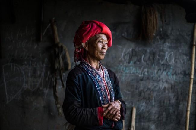Elder Lady Red Dao | ©Réhahn