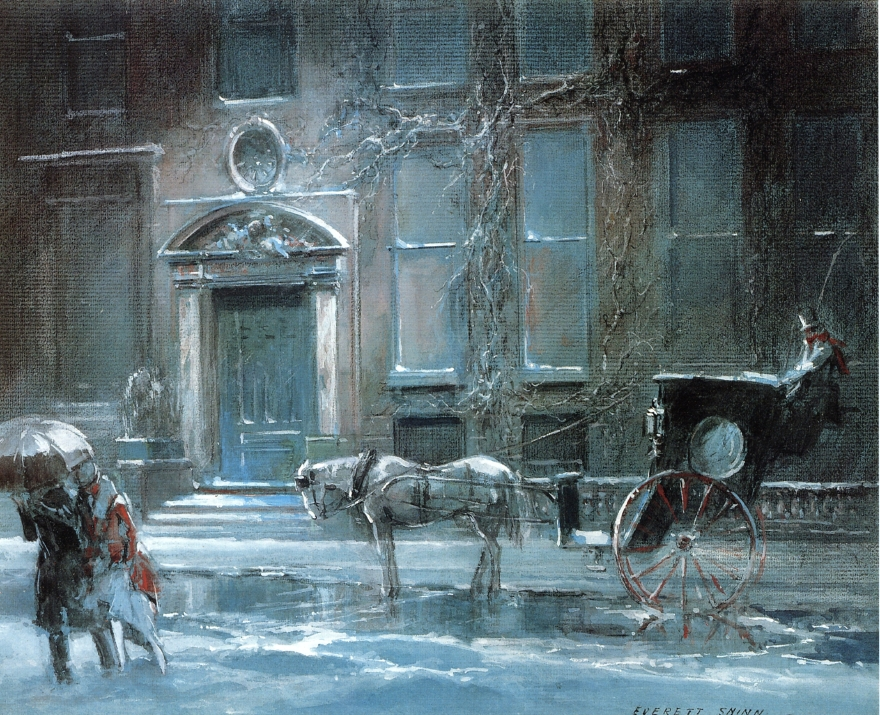 """""""The Canfield Gambling House"""" by Everett Shinn   © Public Domain/WikiCommons"""