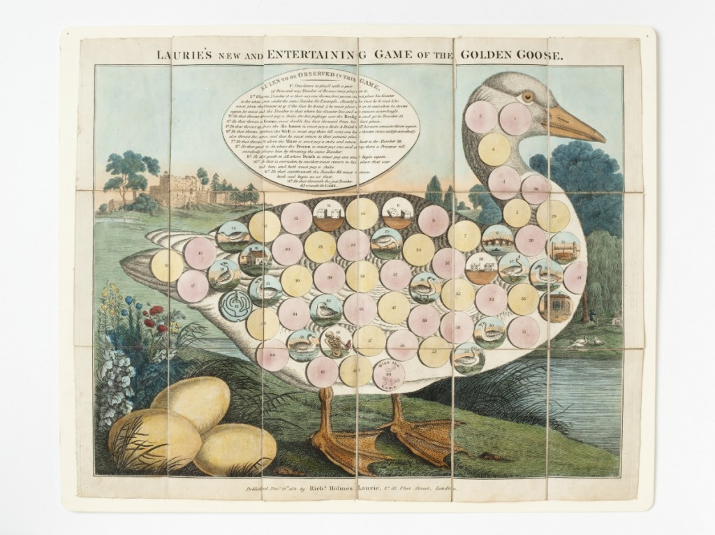Game of the Golden Goose RH Laurie 1831 | Courtesy of V&A Museum