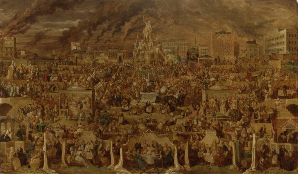 The Worship of Bacchus, 1860 | © George Cruikshank