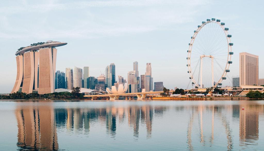 The 9 best views of singapore 39 s skyline - Singapur skyline pool ...