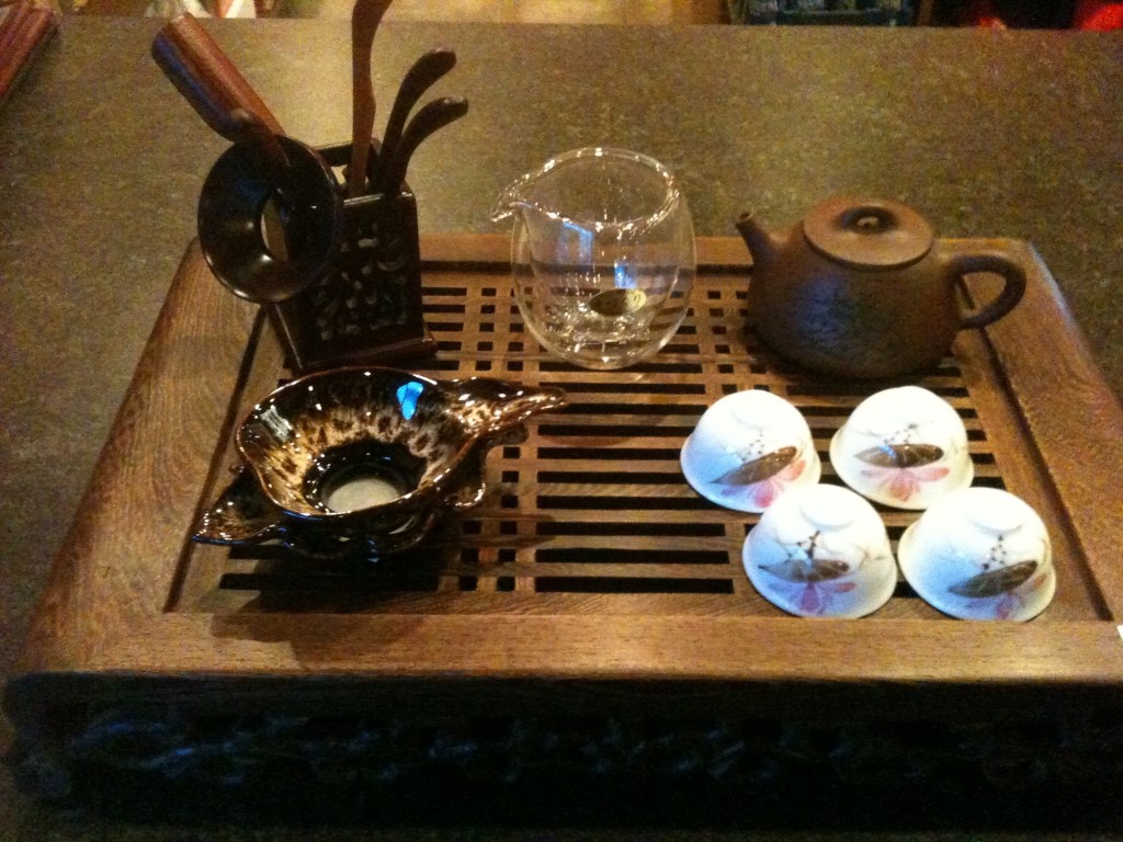 gong fu tea set | © Red Robe Tea