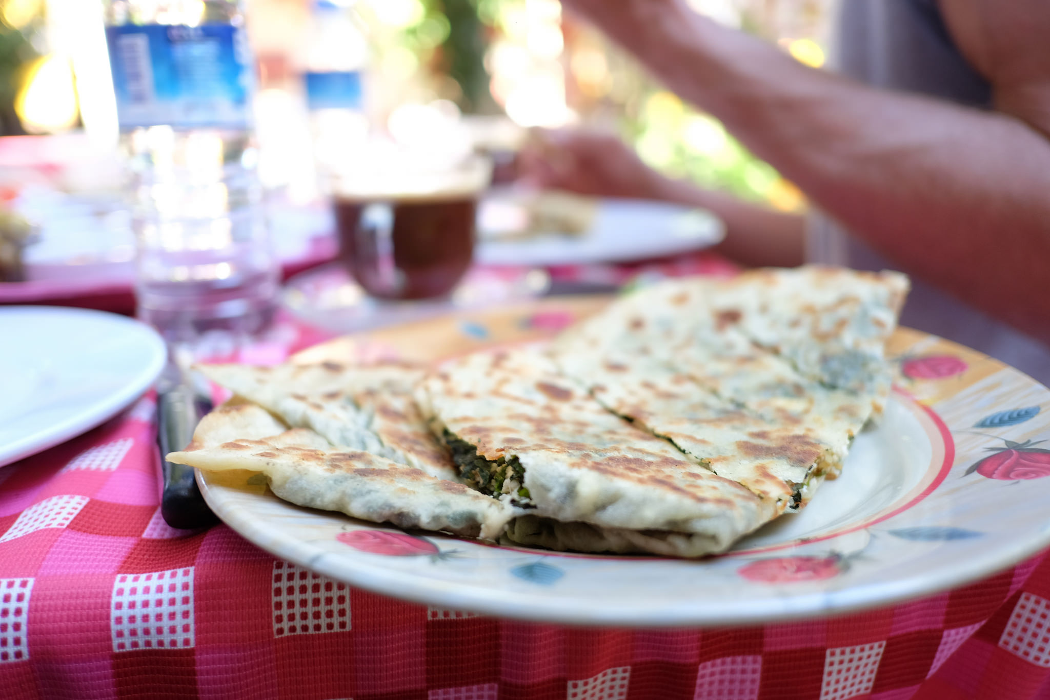 Spinach and cheese gözleme | © Tim Lucas/Flickr