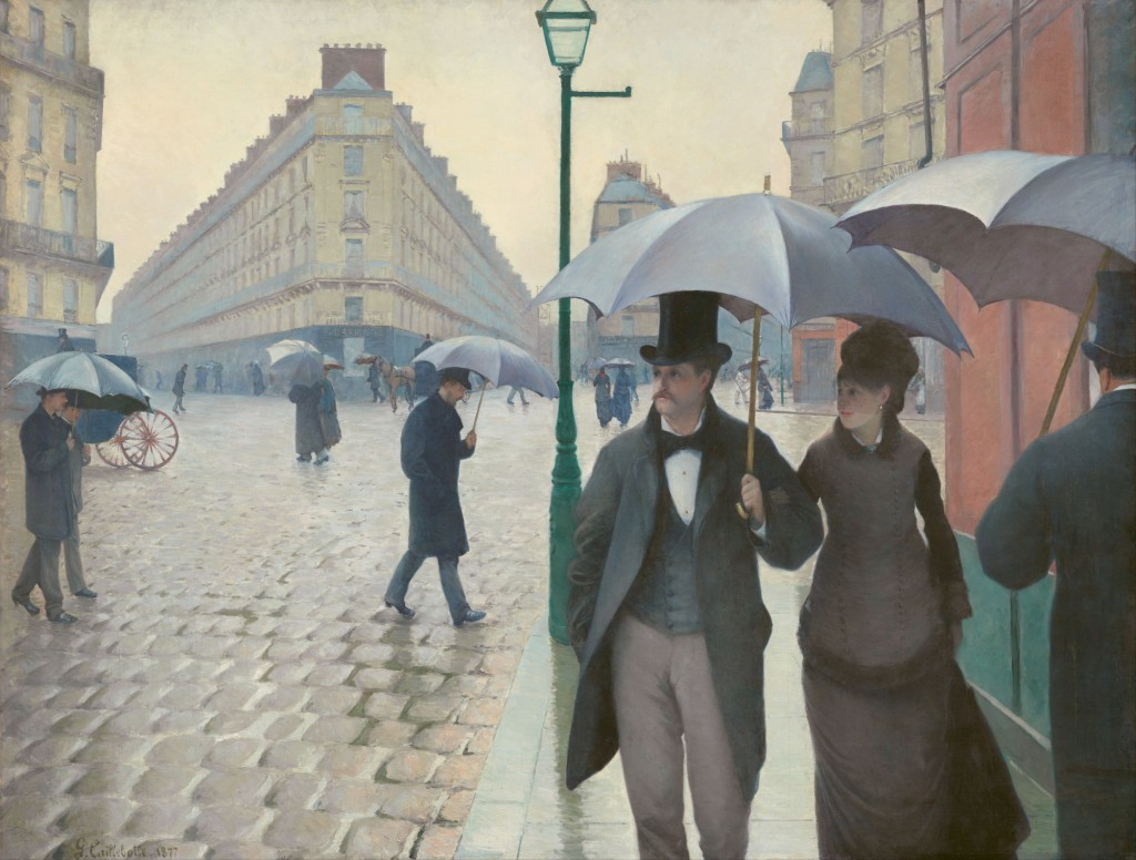 """Paris Street; Rainy Day"" by Gustave Caillebotte 