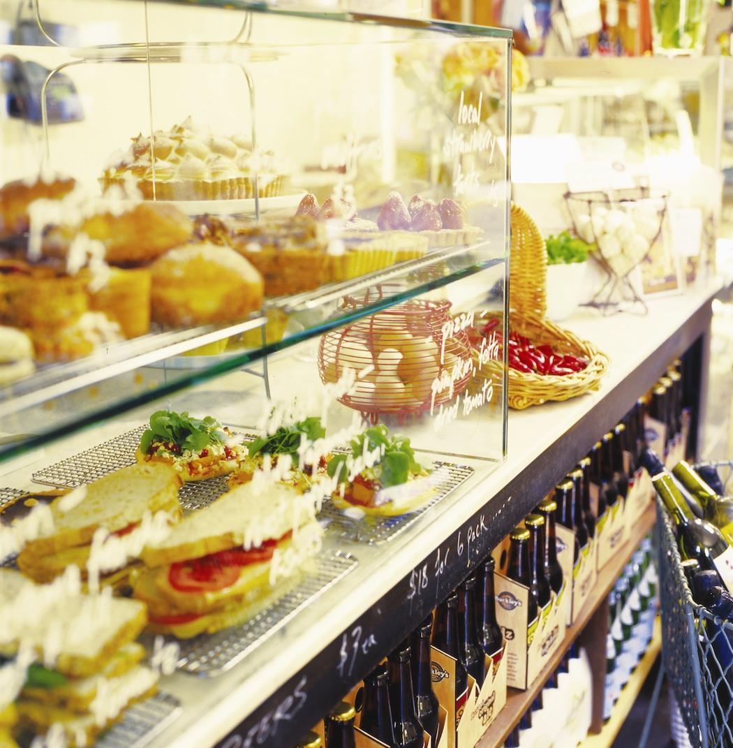 Harvest cafe Display. © Harvest Cafe