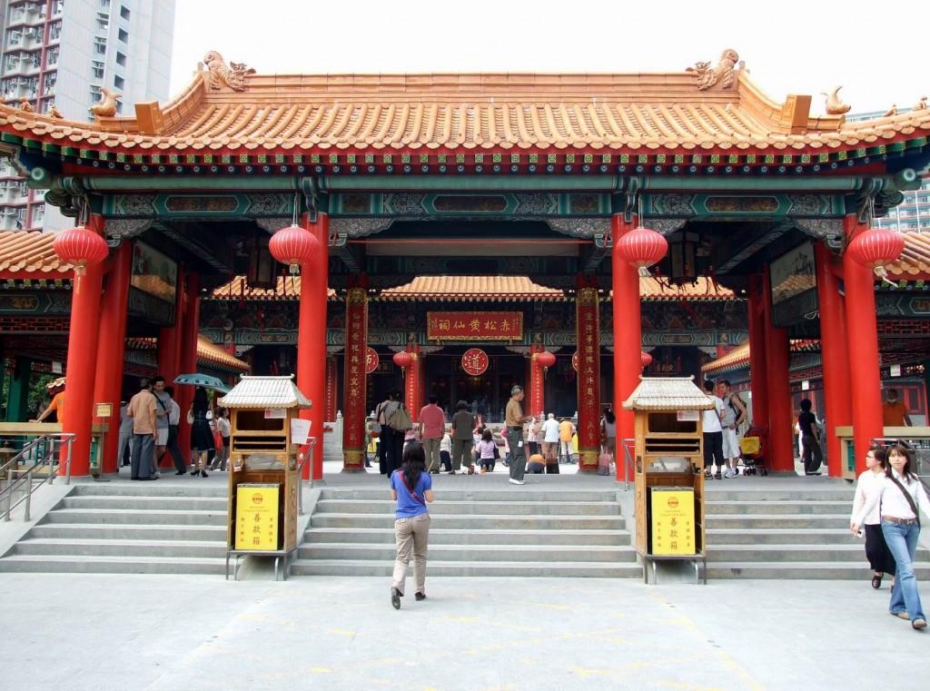 Wong Tai Sin Temple © Chong Fat / Wikicommons