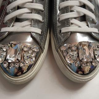 Miu Miu Sneakers | Courtesy of Hazel Lily
