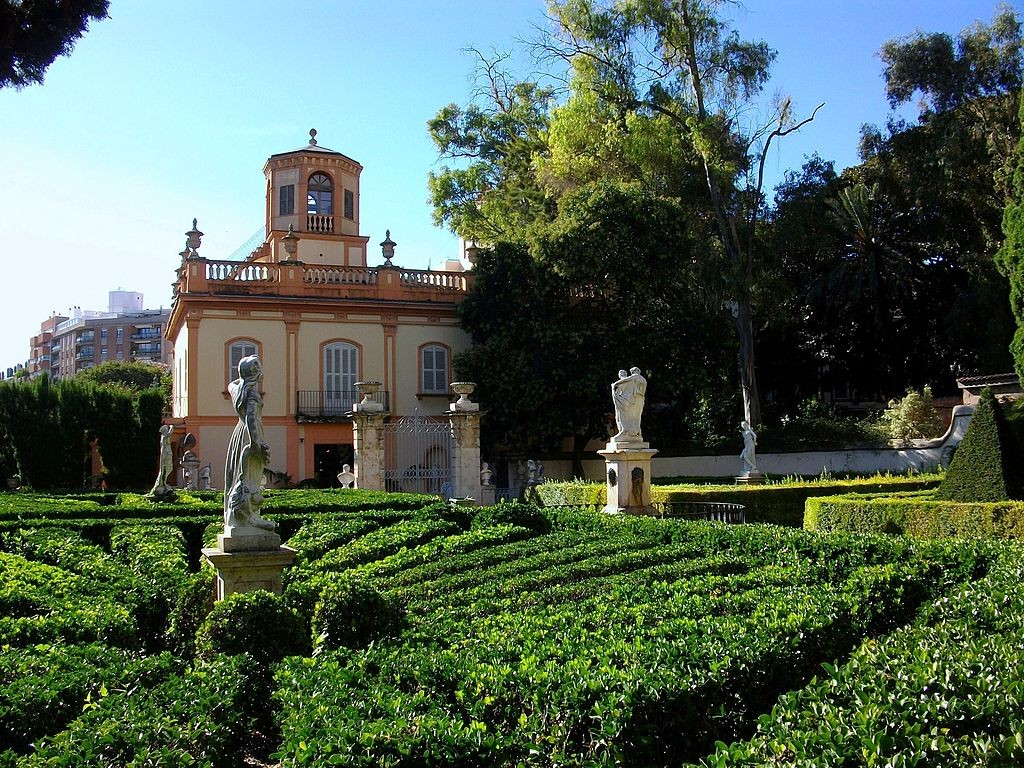 The most beautiful parks and gardens in valencia for Jardines de monforte valencia