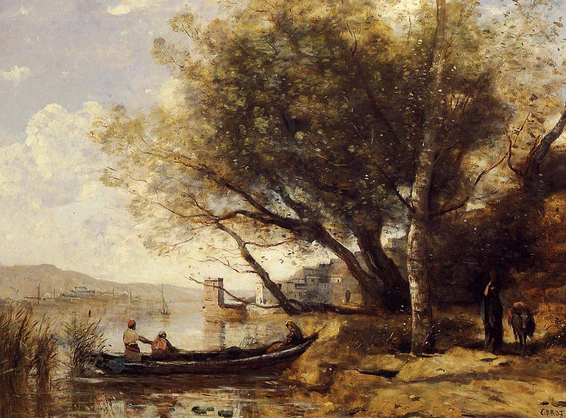 An introduction to realist art in 12 works for Camille corot