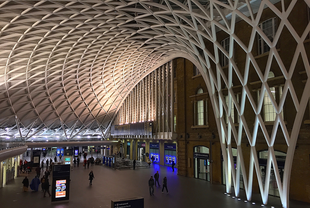 King's Cross St Pancras Station Interiors © John Mason/Flickr