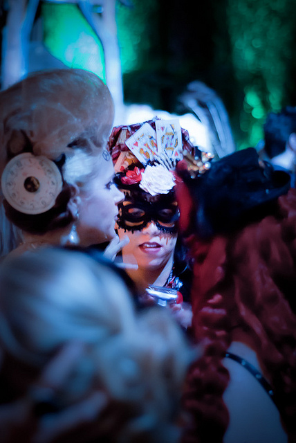 Labyrinth of Jareth Masquerade - 2010   © Ryan Summers/Flickr