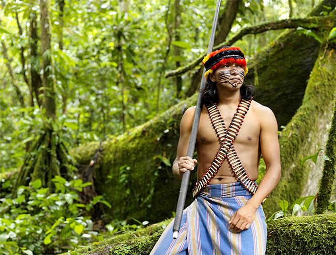 Achuar Warrior | ©Lisa Kristine
