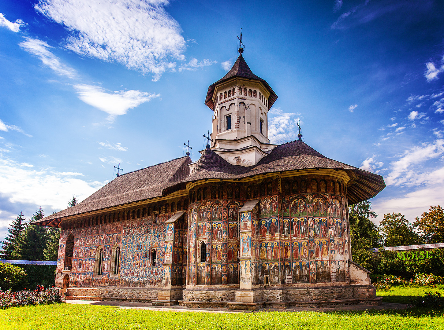 Painted Monastery in Romania | © Alex Moise/WikiCommons
