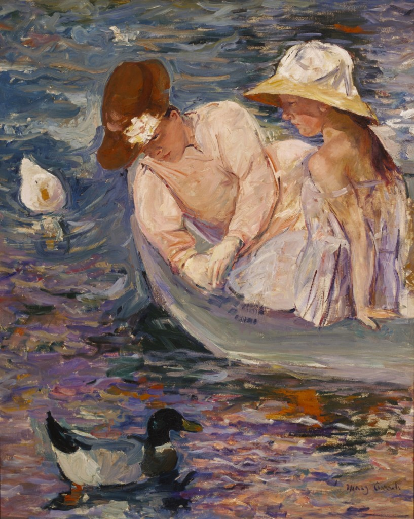 """Summertime"" by Mary Cassatt 