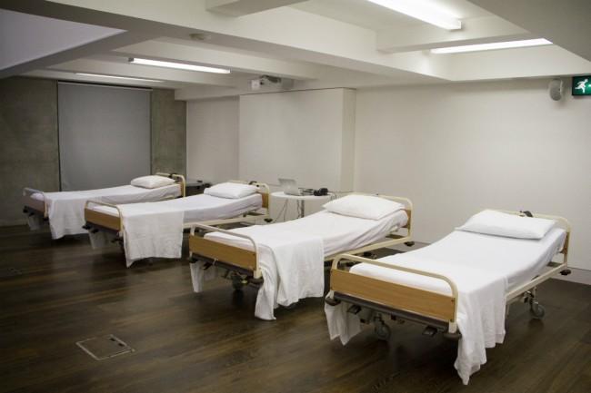 Hospital Beds | © Ryan O'Hare