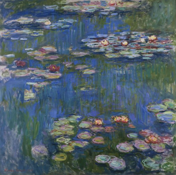 """Water Lilies"" by Claude Monet 