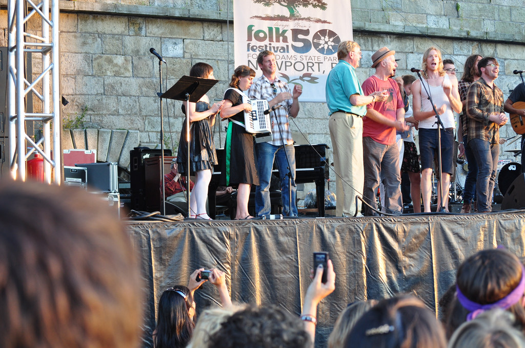 Newport Folk Festival 2009 | © SWIMPHOTO/Flickr