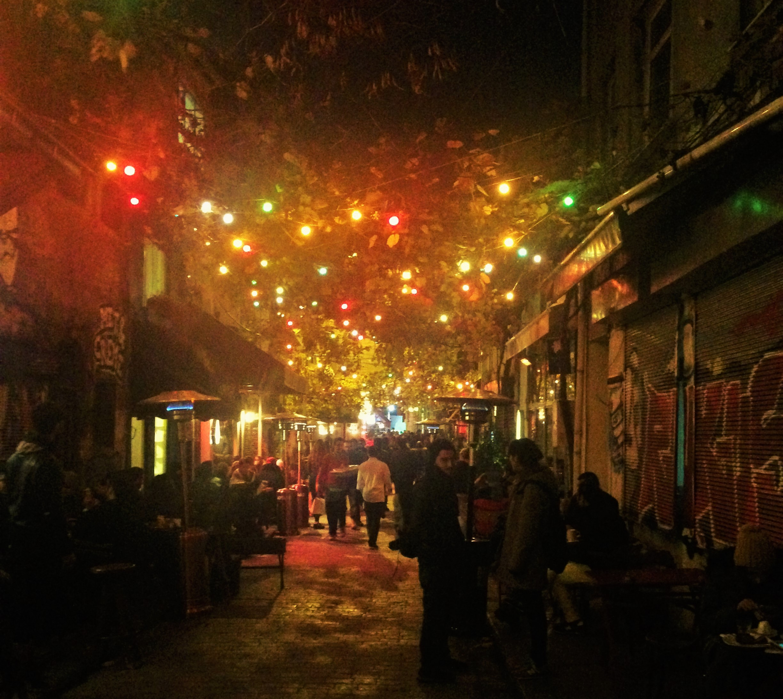 North Karakoy street bar vibe | © Joey Leskin