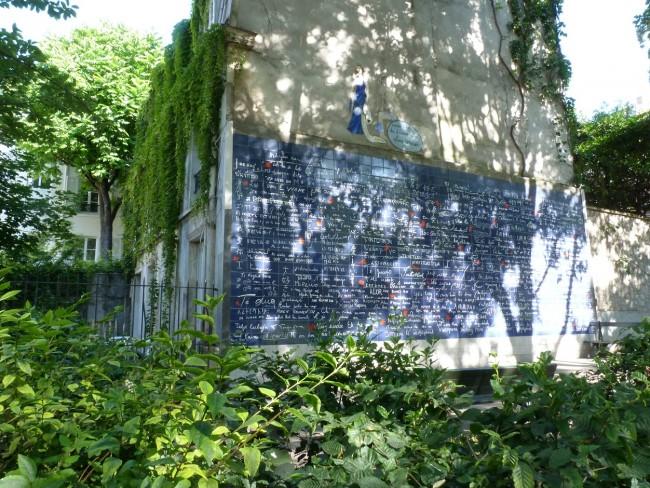 Mur des je t'aime| Courtesy of Frédéric Baron