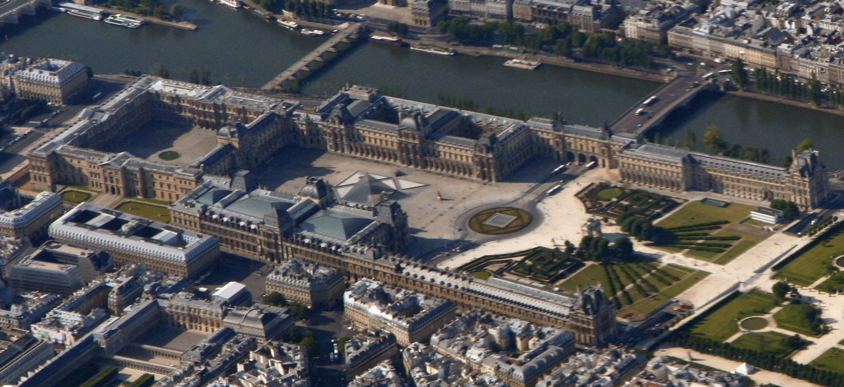 Louvre Palace Today |© Wikicommons