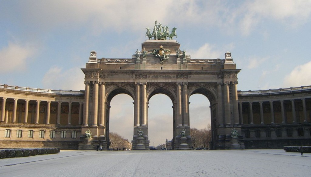 Cinquantenaire arches and wings |© Mirej/WikiCommons