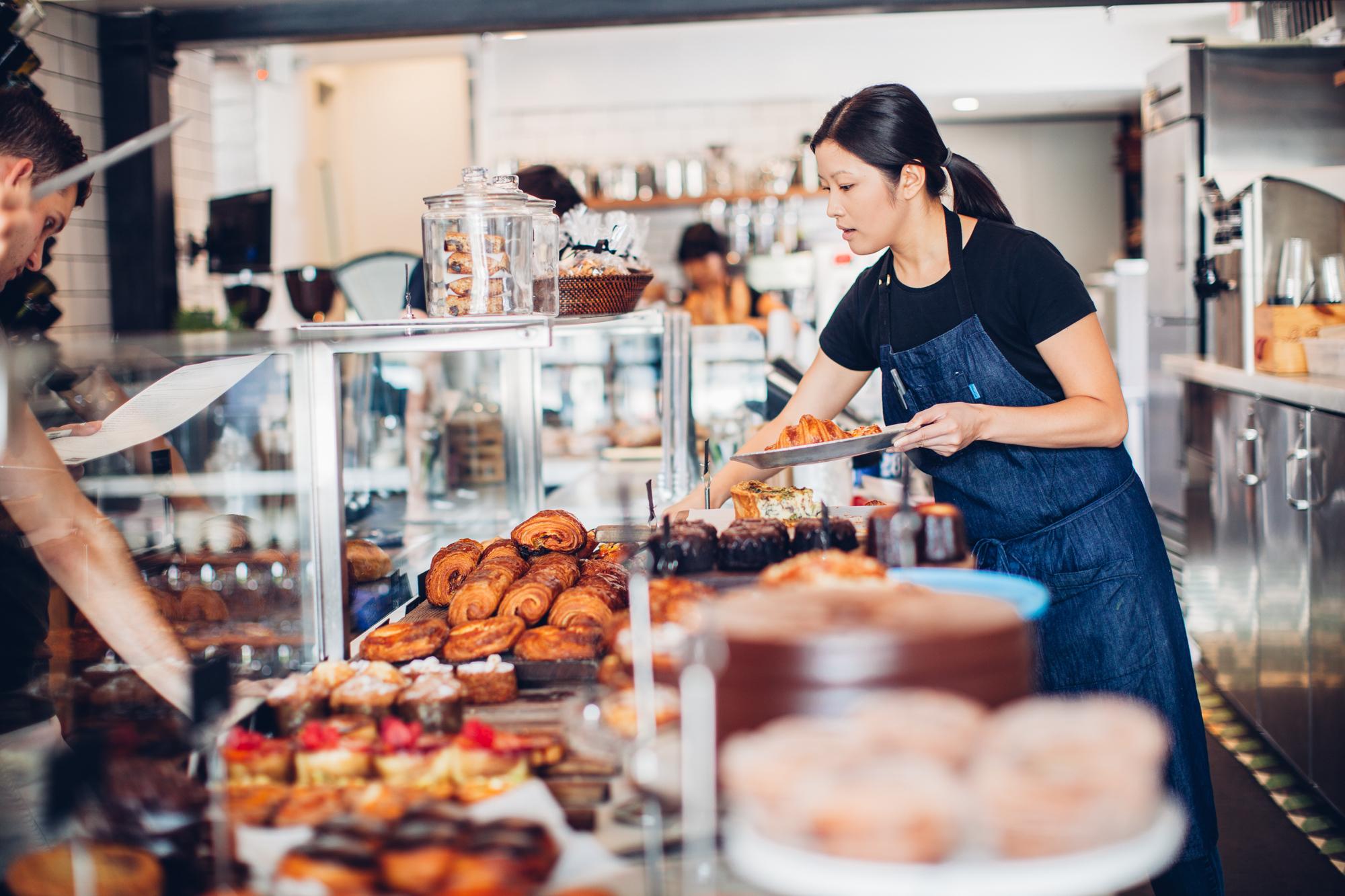 Pastries at Republique | © Michelle Park, Courtesy of Republique