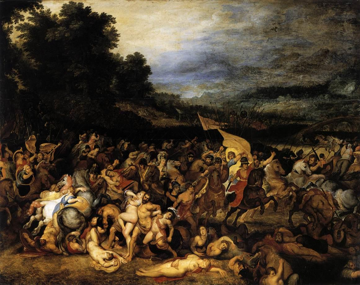 Peter Paul Rubens and Pieter Breugal the Elder, The Battle of the Amazon | © Sanssouci Picture Gallery/WikiCommons