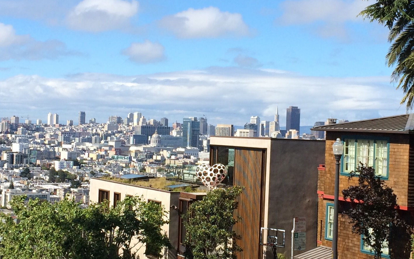 Hilltop view from Potrero Hill | Courtesy of Edward Whitmore