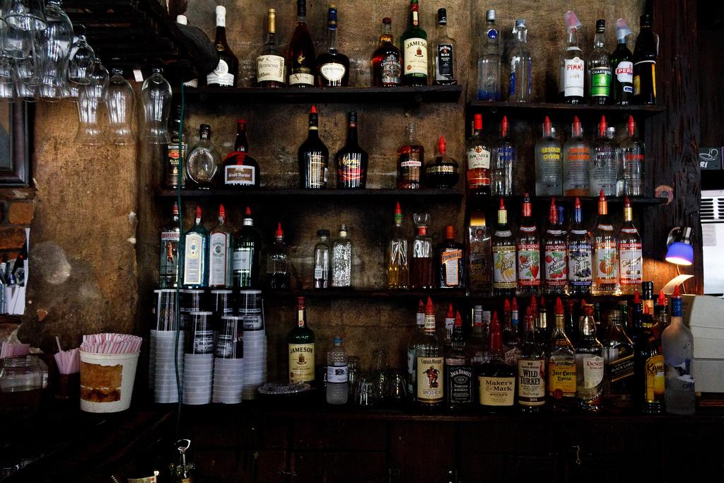 Bar at Lefitte's Blacksmith Shop © Gary J. Wood/Flickr
