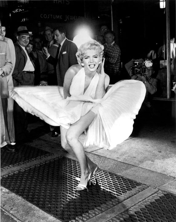 Marilyn Monroe in 'The Seven Year Itch' | © Metropolitan Transportation Authority of the State of New York/Flickr