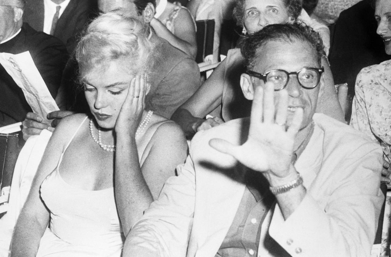 Marilyn Monroe and Arthur Miller | © Ky/Flickr