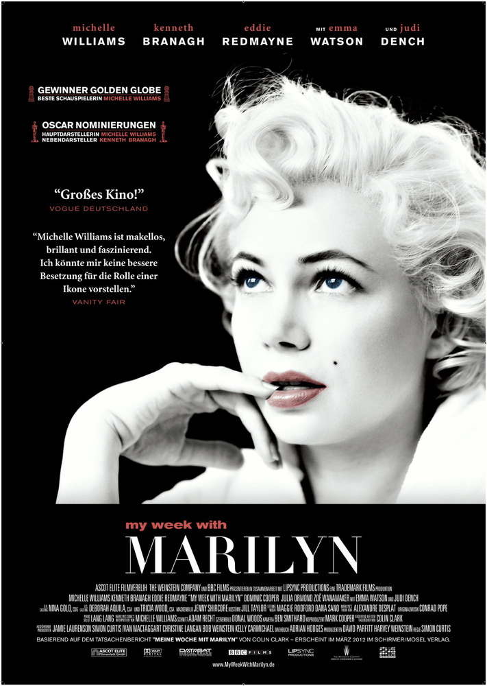 'My Week with Marilyn' Movie Poster (Foreign Language) | © Wolf Gang/Flickr