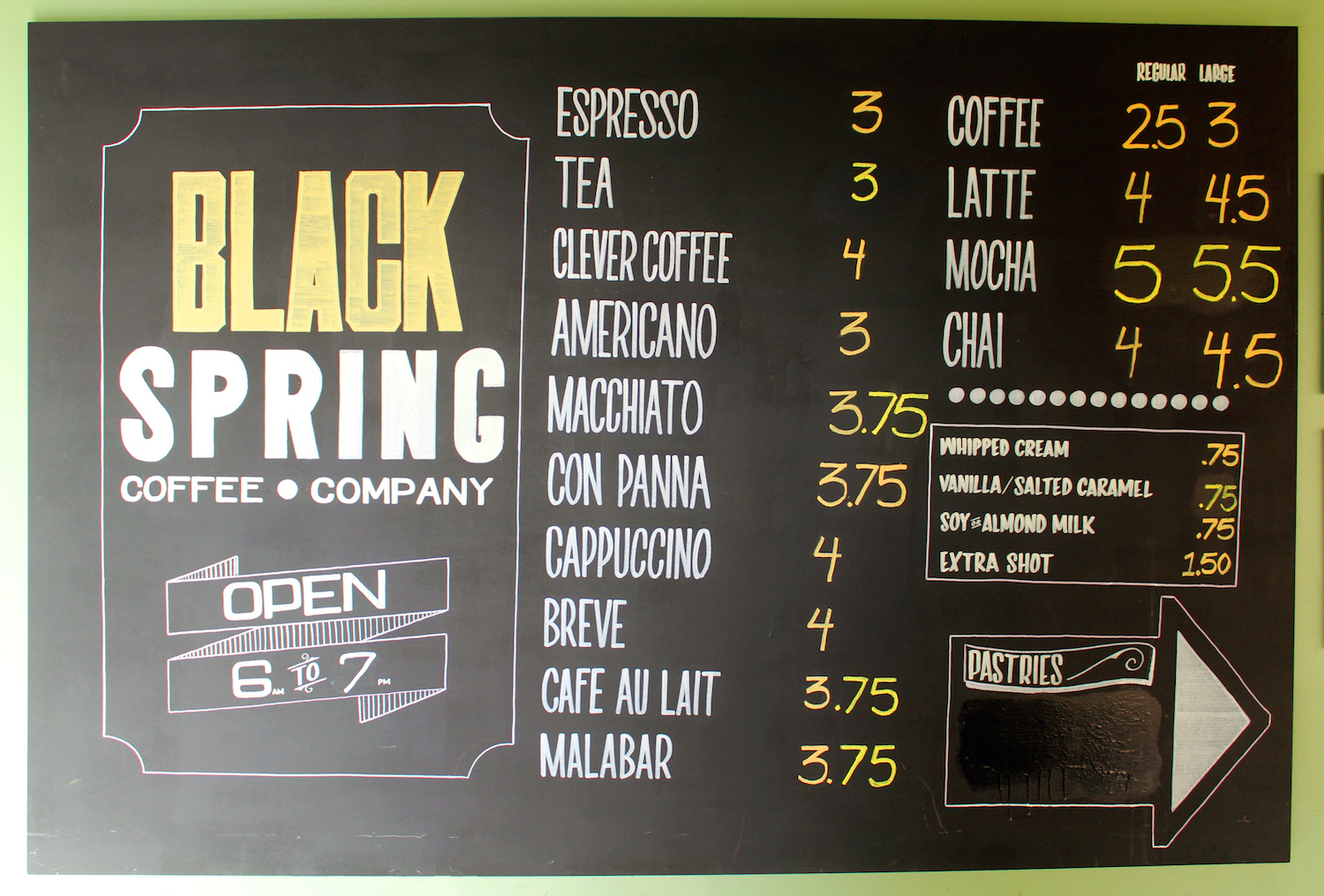 Black Spring Coffee Company | © Rayanne Piaña