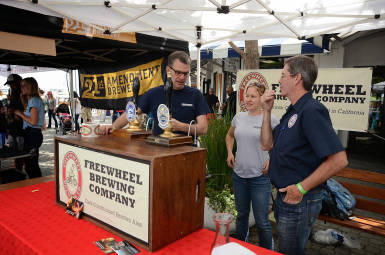 Freewheel Brewing Company © Bike East Bay/Flickr